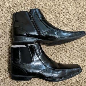 Madden talent black men's boots 10.5